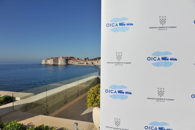 We presented our products on the OICA General Assembly 2013. in Dubrovnik